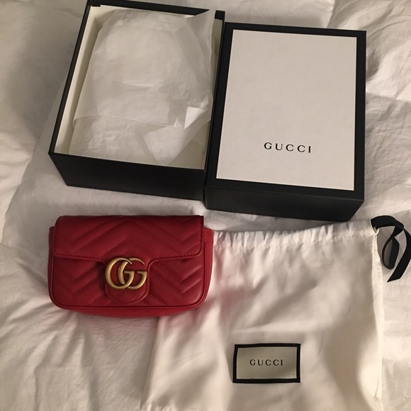 0fbfe10f539f02 Gucci Bags | Gg Marmont Matelass Leather Super Mini Bag | Poshmark